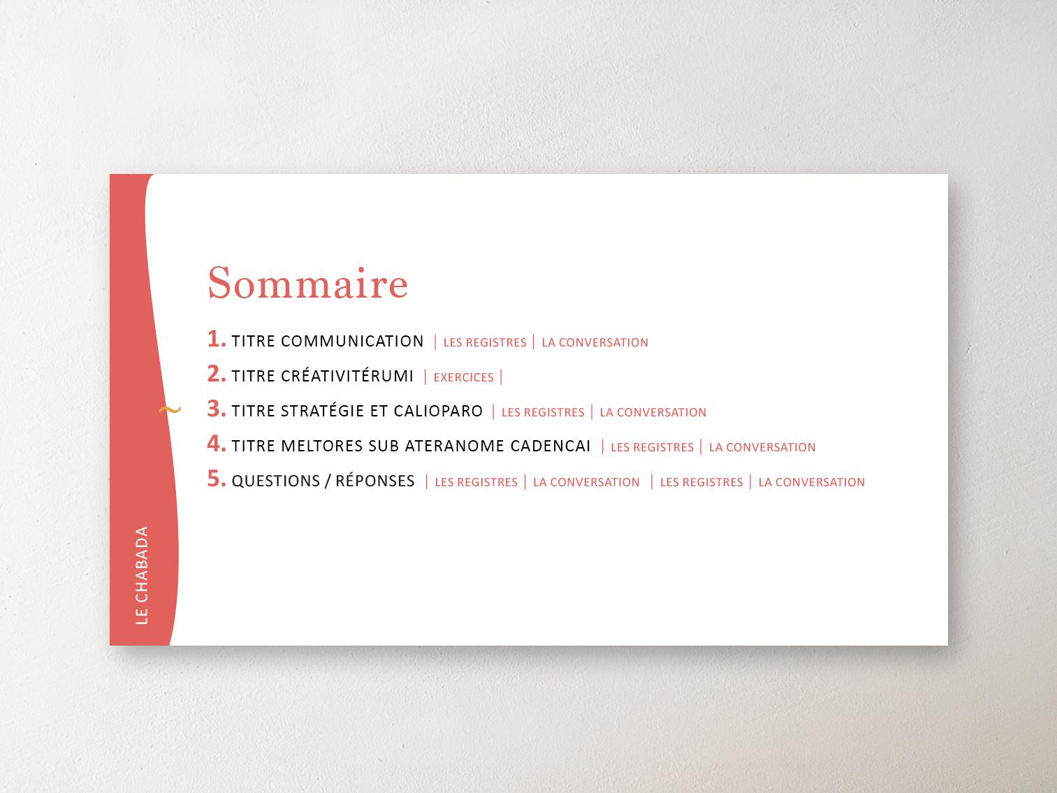 Sommaire PP Mazette