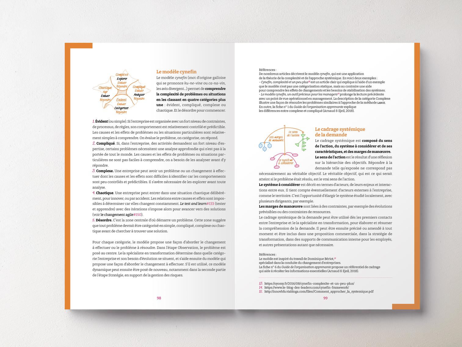 Livre Méthode Lance pages outils orange