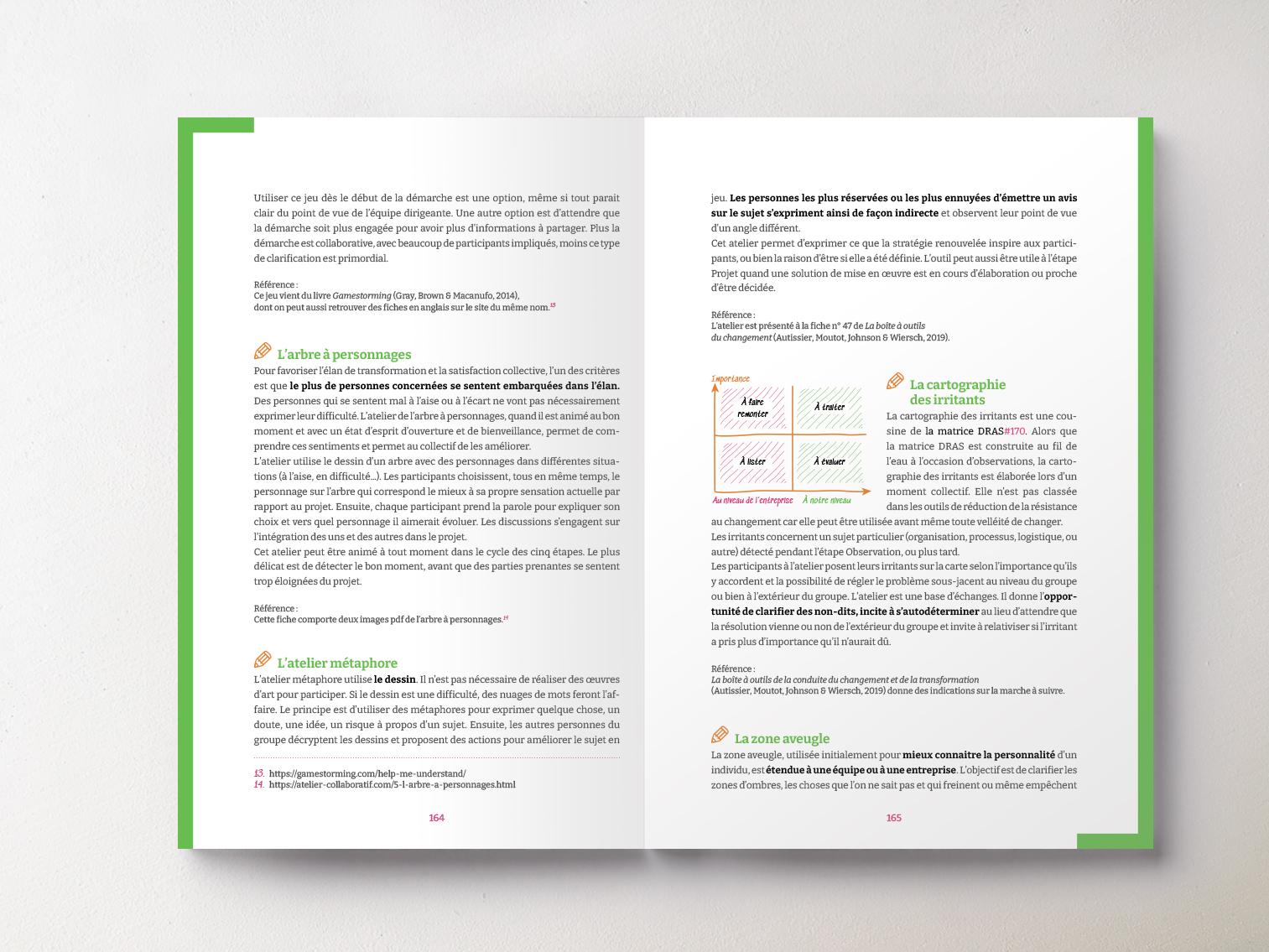 Livre Méthode Lance pages outils vert
