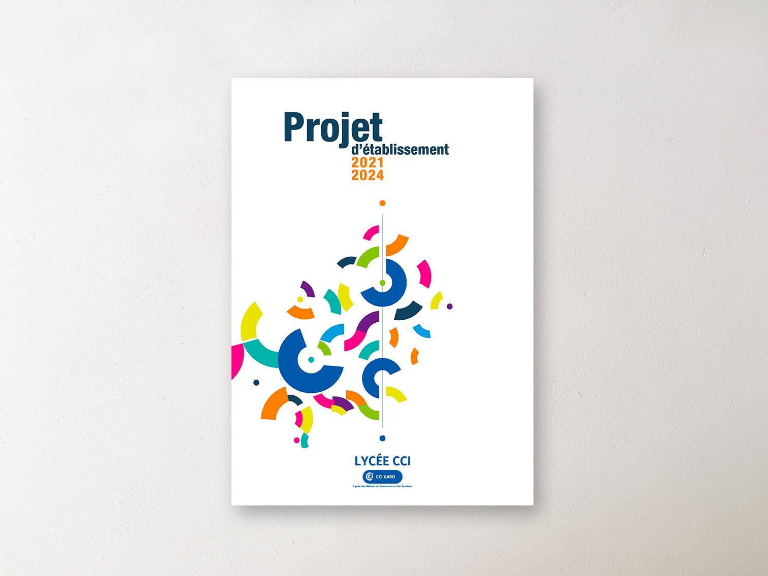 Couv du Projet d'établissement CCi du Gard
