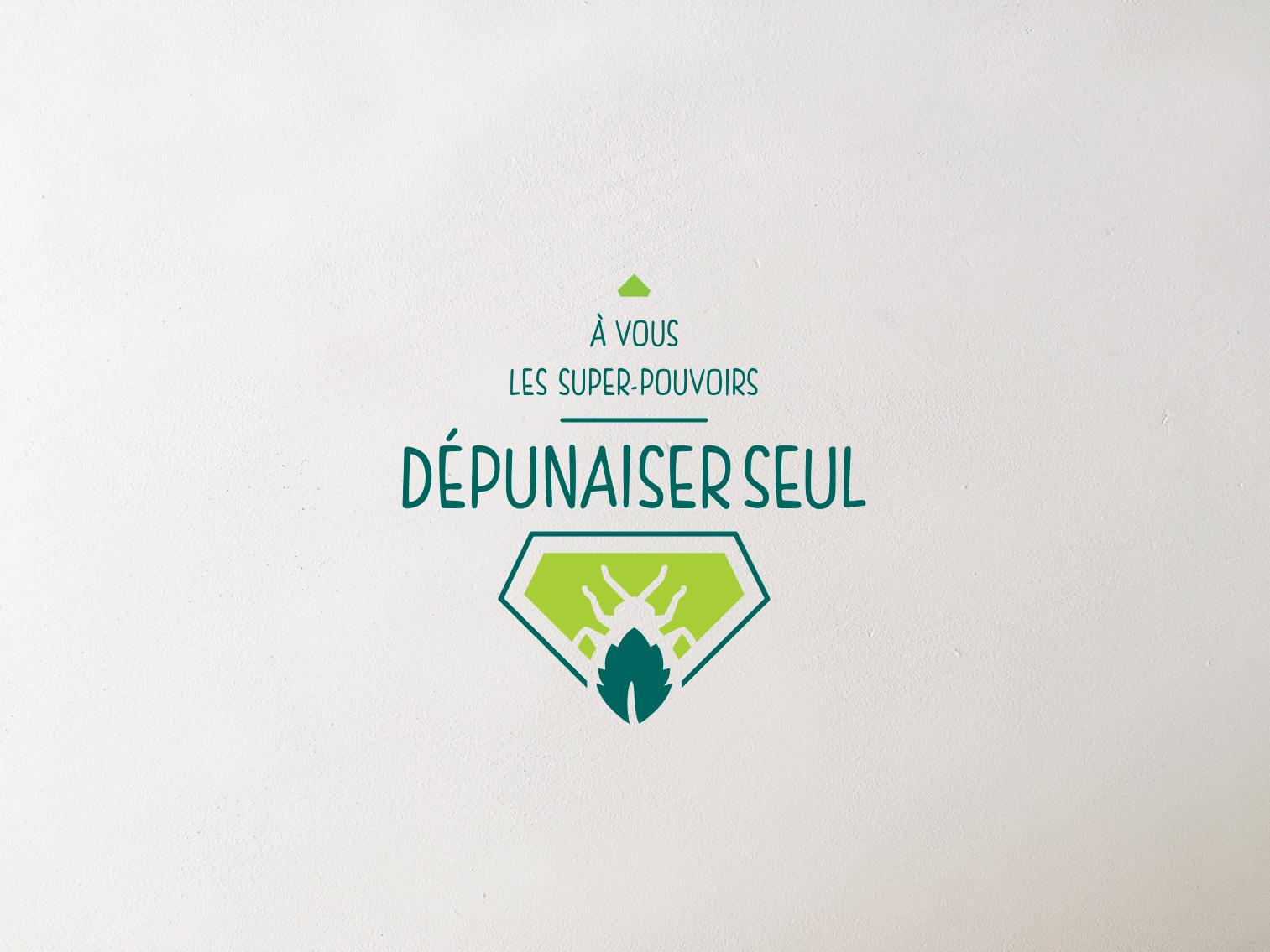 Logo dépunaiser seul