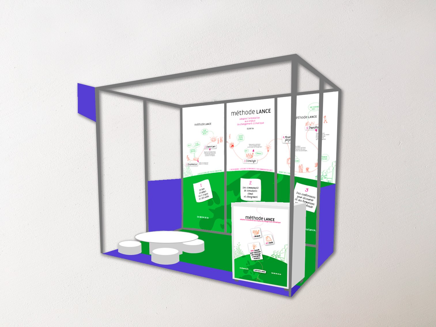 Stand ecolance